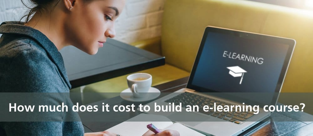 cost to build an e-learning course