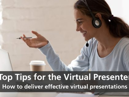 top tips virtual presenter