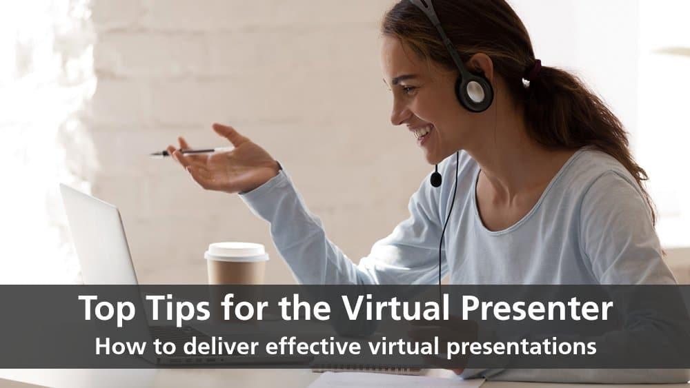 top tips virtual presenter