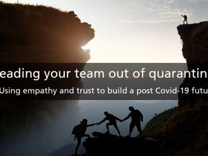 leading your team covid 19