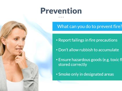 prevention fire