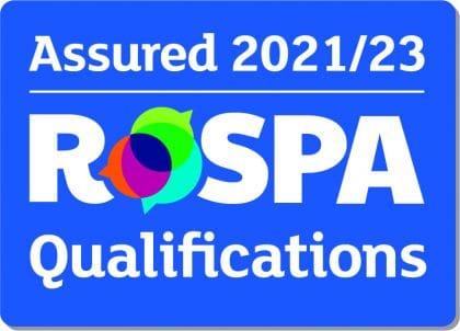 RoSPA Qualifications Assured 2021