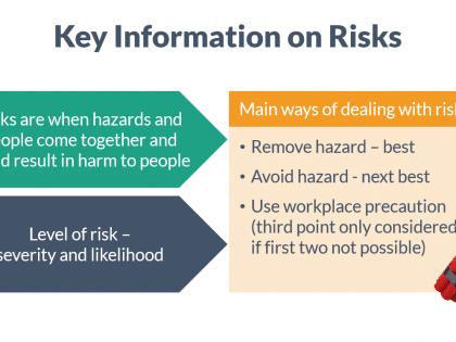 key info risks safety