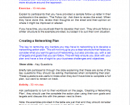 Business Networking Trainer Notes