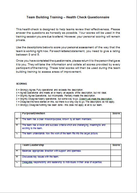 Team Building Training Course Materials | Training Resources, UK ...