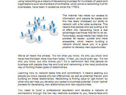 Business Networking - Workbook