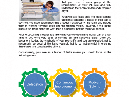 task leadership