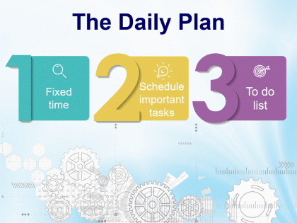 time daily plan