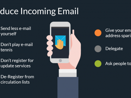 reduce email