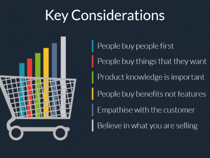 sales considerations