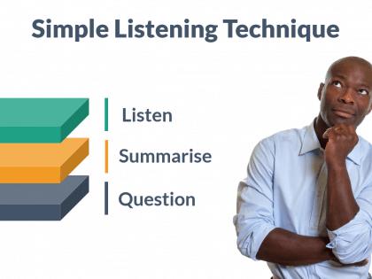 simple listening