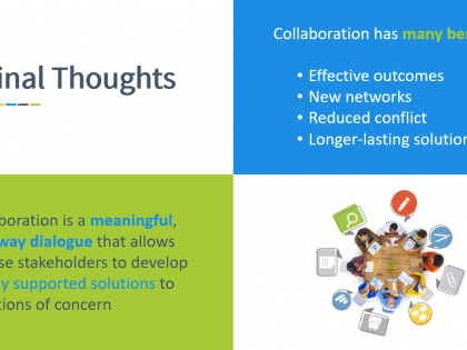collaboration thoughts