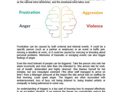 triggers behaviours