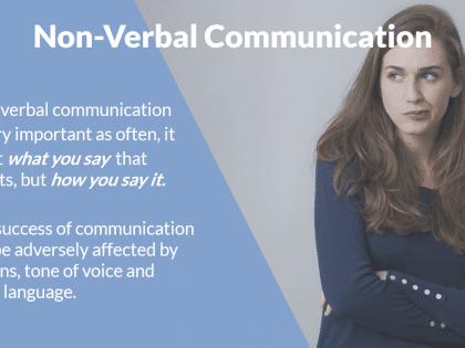 non verbal presentation