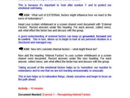 redundancy virtual notes