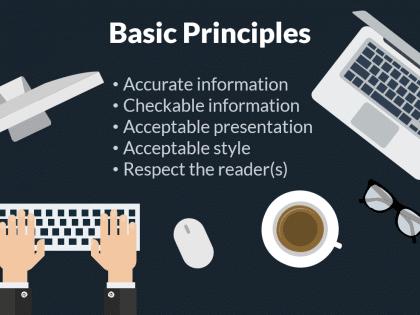 report writing principles slide