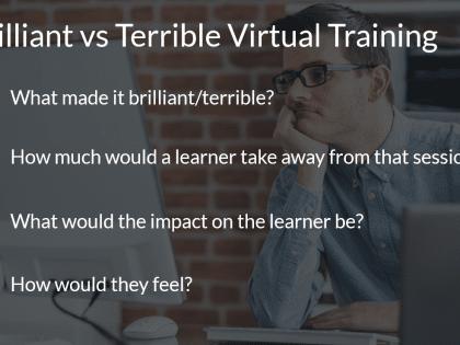 brilliant virtual training