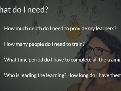 virtual training need