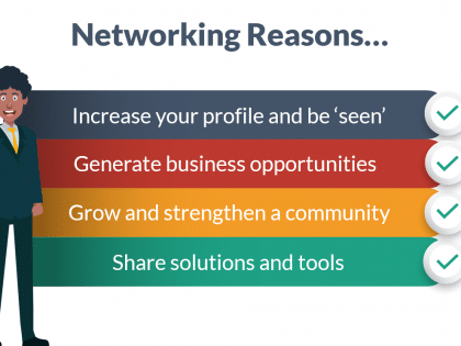 networking reasons