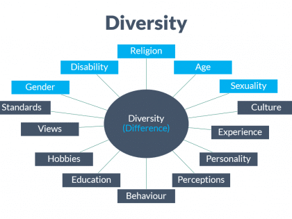 diversity difference