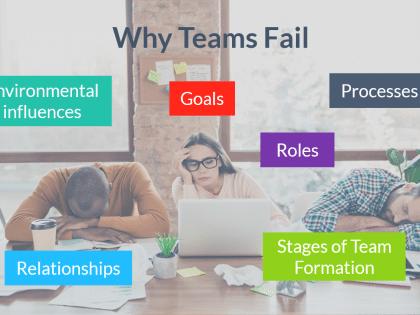 why teams fail slides