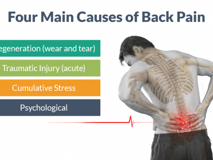 causes back pain