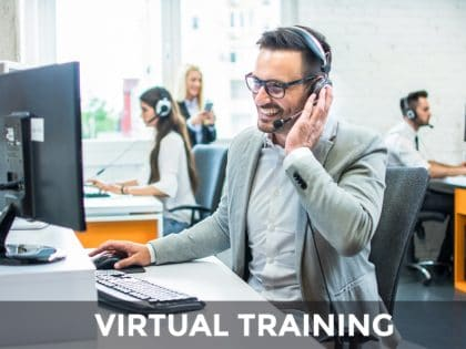 achieving sales on the telephone virtual