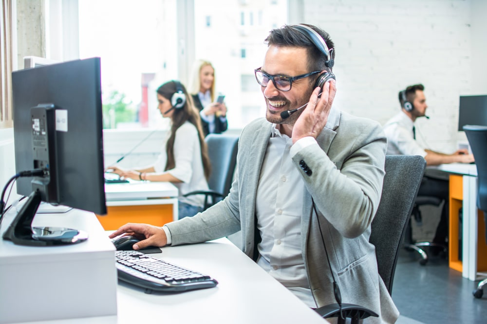 achieving sales on the telephone